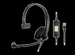 Sennheiser cuffia monoaurale SC 30 USB ML