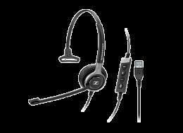 Sennheiser cuffia monoaurale SC 630 USB ML