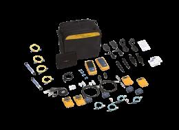 Fluke Networks Kit CableAnalyzer con moduli CertiFiber Quad OLTS e Videocamera d'ispezione DSX-5000QI-INTL