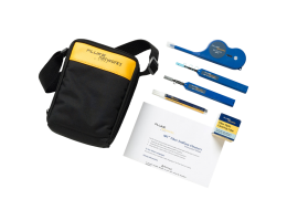 Fluke NEtworks kit per pulizia fibra ottica con OneClick Cleaners NFC-KIT-CASE-E