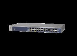 Netgear switch gestito ProSafe PoE 12 porte gigabit + 2 SFP GSM7212F-100NES