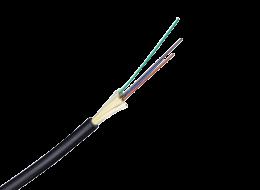 Belden Cavo in fibra ottica Loose Tube da interno/esterno, a 4 fibre 50/125-OM2 BW 600/1200 GUCB204