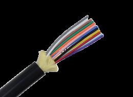 Belden Cavo in fibra ottica Loose Tube da interno/esterno, a 12 fibre 9/125 ITU G.652D-OS2 GUCB812