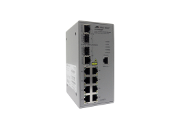 Allied Switch industriale gestito con 8 porte 10/100TX e 2 SFP Combo AT-IFS802SP-80