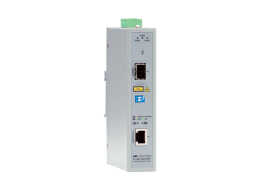 Allied Media Converter Industriale a 2 porte Gigabit AT-IMC1000TSFP-80