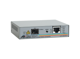 Allied Media Converter standalone da 1000T Gigabit a fibra SFP AT-MC1008SP-60