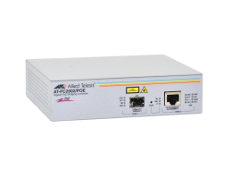 Allied Media Converter PoE da 10/100/1000T a fibra SFP AT-PC2002POE-50