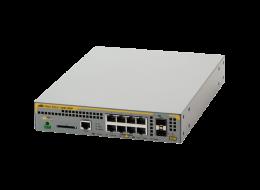 Allied Switch con 8 porte 10/100/1000 PoE+ e 2 porte SFP 100/1000X gigabit AT-X230-10GP-50