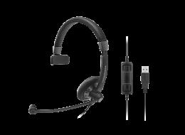 Sennheiser cuffia a filo monoaurale SC 40 USB MS BLACK