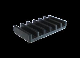 Brand-Rex Splice Holder KeyQuick® con 6 postazioni per giunto meccanico FPCMSH06