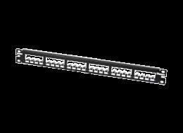 Panduit pannello modulare angolato interamente in metallo CP24BLY