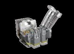 Brand-Rex Connettore RJ45 GigaPlus Tool Free non schermato GPCJAKU002