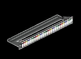 Brand-Rex Pannello di Permutazione colorato a 24 porte MMCPNLX24SIJ2DCI