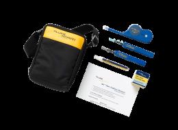 Fluke NEtworks kit per pulizia fibra ottica con OneClick Cleaners NFC-KIT-CASE-E