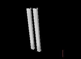 Tecnosteel montanti per rack compact Net 16 U