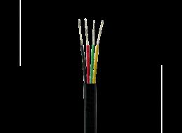 Optronics cavo telefonico piatto con 4 conduttori in rame CAPI4N