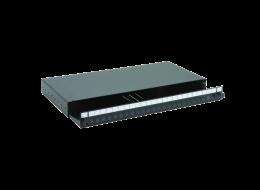 Optronics cassetto ottico scorrevole vuoto con 1 U e 24 porte SC simplex / LC duplex S03XXX00