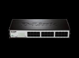 D-Link switch non gestito con 24 porte fast ethernet DES-1024D