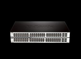 D-Link Smart Switch 48 porte gigabit e 4 SFP DGS-1210-52