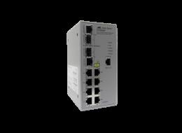 Allied Switch industriale gestito con 8 porte 10/100TX e 2 SFP Combo AT-IFS802SP-80