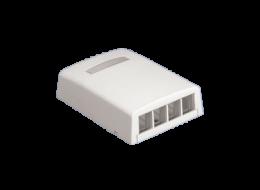 Panduit NetKey scatola 4 moduli nk4bxiw-ay