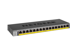 netgear Switch Unmanaged Gigabit a 16 porte GS116PP
