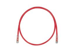 panduit patchcord cat6 red